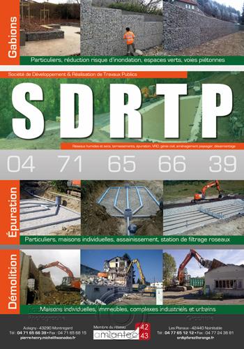 Encart publicitaire SDRTP par Fabrice Beauvois • Studio Sourisdom