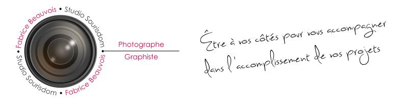 Fabrice Beauvois • Studio Sourisdom, photographe et graphiste Auvergne, Rhône-Alpes, France