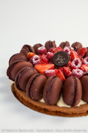 Fabrice Beauvois - Sourisdom, photographies culinaires pour la pâtisserie Au palais d'Or à Firminy