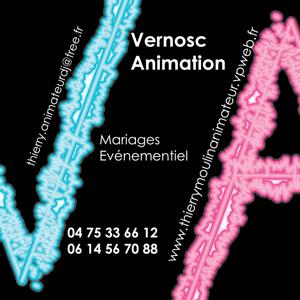 Carte de visite pour Vernosc Animation par Fabrice Beauvois - Sourisdom