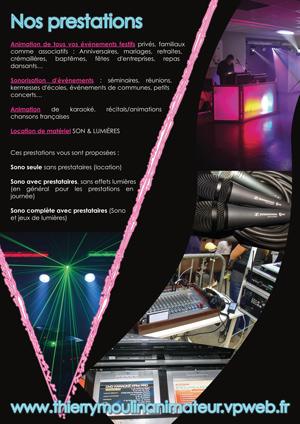 Brochure pour Vernosc Animation par Fabrice Beauvois - Sourisdom
