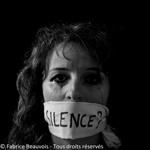 Photographie tirée de l'exposition sur le silence qui s'est déroulée les 21 et 22 avril 2012